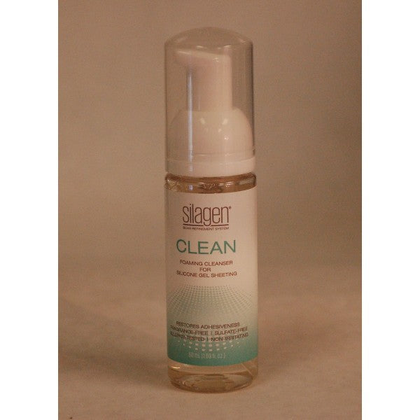 Silagen Scar Refinement System - CLEAN - Foaming Cleanser for Silicone Gel Sheeting