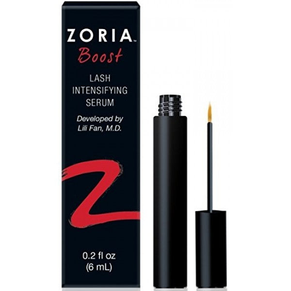 zoria boost mascara with lash intensifying serum