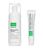 Dr. Lin Skincare 2 Step Acne Clarifying Kit (For Mild or Occasional Acne)