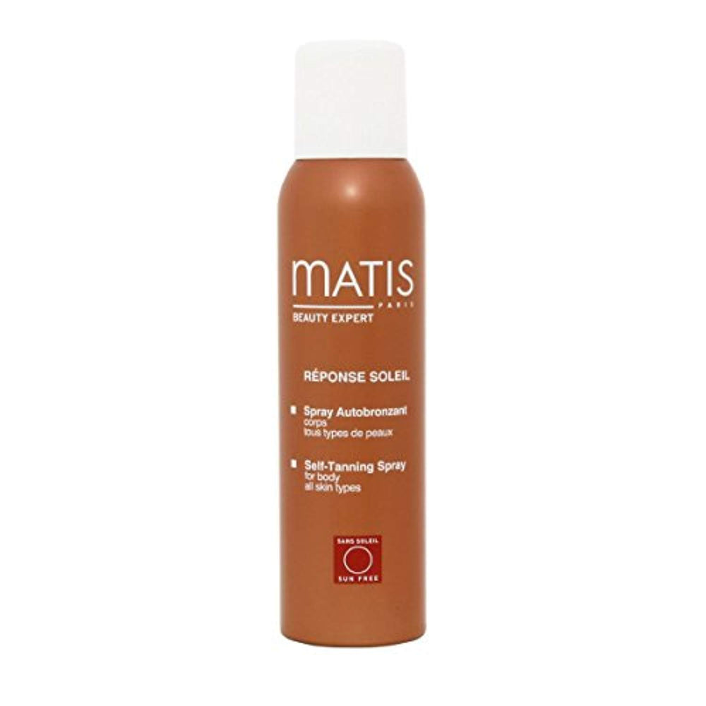 Matis Paris Reponse Soleil Self-Tanning Spray For Body All Skin Types 125Ml