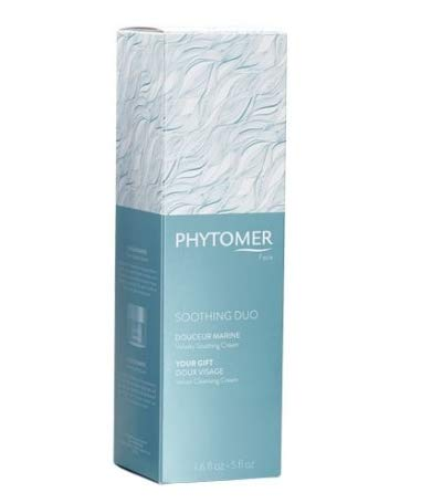Phytomer Soothing Duo Velvety Soothing Cream 1.6oz + Velvet Cleansing Cream 5oz