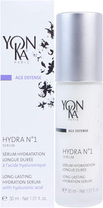 YON-KA AGE DEFENSE HYDRA NO. 1 SERUM Booster D'hydratation, (1.01 Ounce / 30 Milliliter) - Long-Lasting Hydration Booster Serum for Dry Skin Types