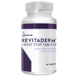 Blaine Labs RevitaDERM Sweat Stop Tablets - 30 Tablets
