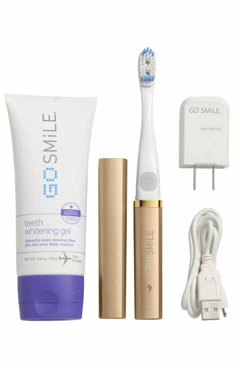 Go Smile On The Go Sonic Blue Teeth Whitening System - Gold