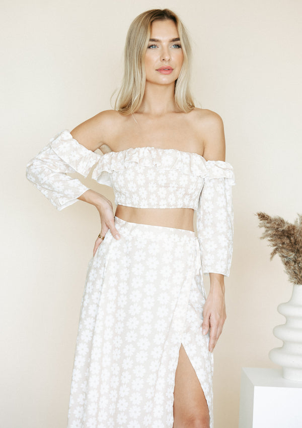 NORA FLORAL CO-ORD