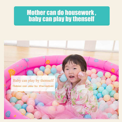 100PCS Colorful Soft Plastic Kids Play Ball Ocean Ball