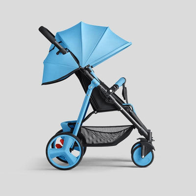 Portable umbrella Baby Stroller-blue