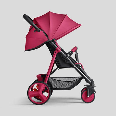 lightweight stroller-red baby pram