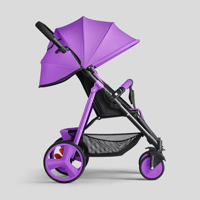 Portable Baby Stroller-cheap prams purple