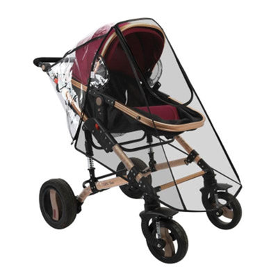 Universal Baby Stroller Rain Cover Wind Dust Shield