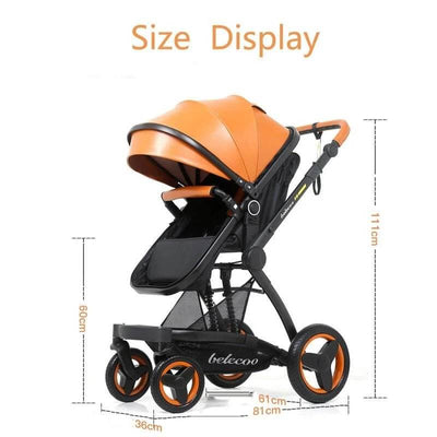 Multi-function 3 In 1 Stroller Travel System Convertible Stroller With Carrier