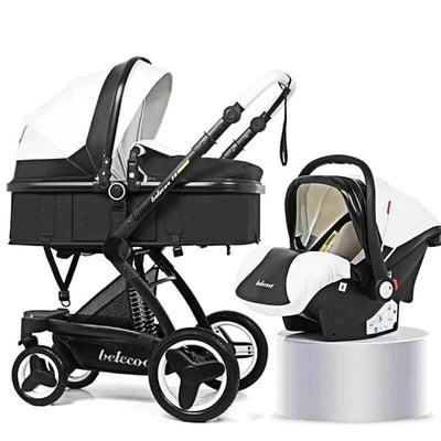 Quad Stroller With Carrier