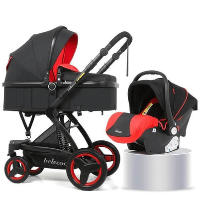 baby stroller 3 in 1 with car seat combo