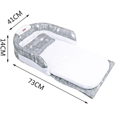 Baby Safety Isolation Travel Nest Bed