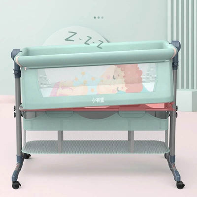 Baby Bedside Sleeper Portable Baby Bassinet Crib Attached to Bed