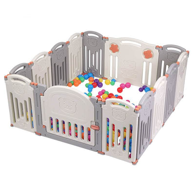 Baby Playpen with Lock Gate