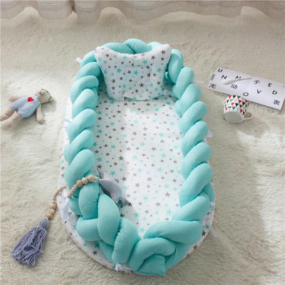 Baby Nest Cotton Bionic Bed-Pure coloer-10