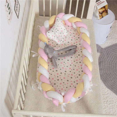 Baby Nest Cotton Bionic Bed-Multicolour--6