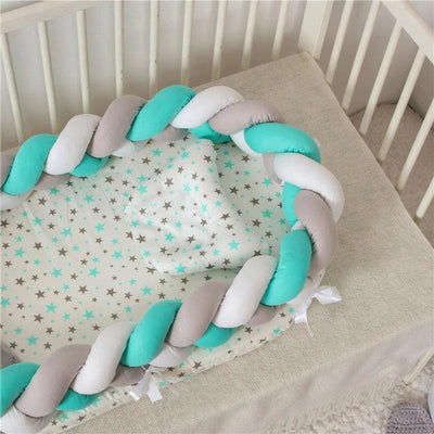 Baby Nest Cotton Bionic Bed-Multicolour-11