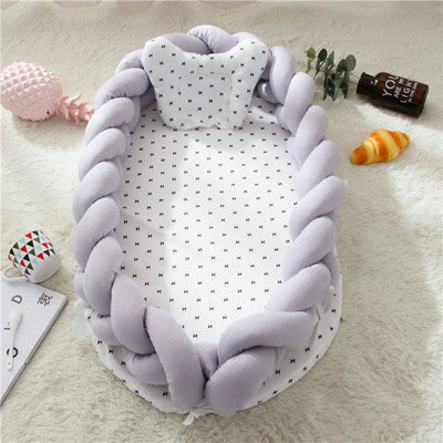 Baby Nest Cotton Bionic Bed-Pure coloer-1