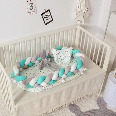 Baby Nest Cotton Bionic Bed-Multicolour-10