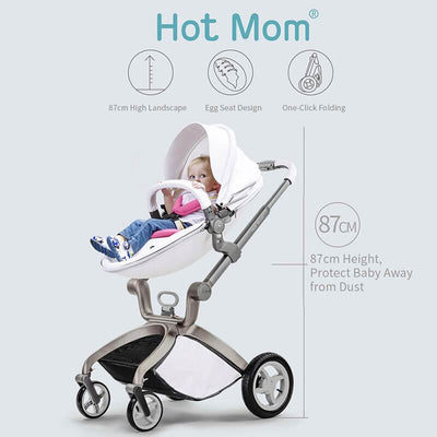 Hot Mom Baby Stroller Best Stroller for Newborns and Toddlers