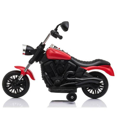 Kids Electric Ride On Motorcycle With Training Wheels 6V