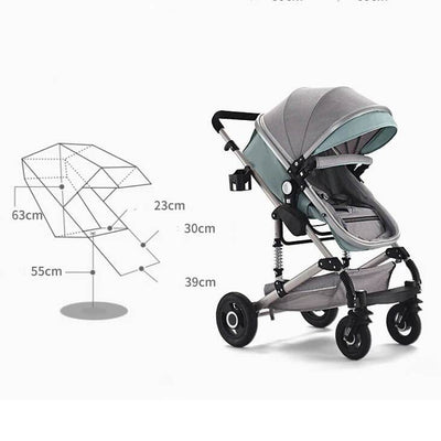Infant Buggy 3 in 1 Travel Systems-12