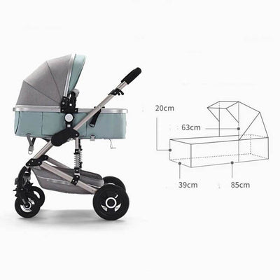 Infant Buggy 3 in 1 Travel Systems-13