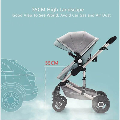 Infant Buggy 3 in 1 Travel Systems-1