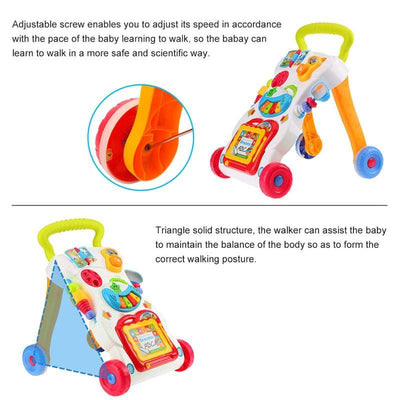 Newbabywish Multifuctional Baby Walker