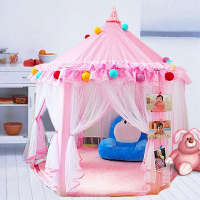 Newbabywish Princess Tent Playhouse