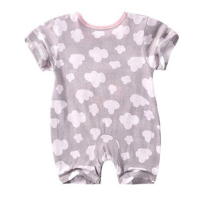 Newbabywish Summer Baby Cotton Rompers