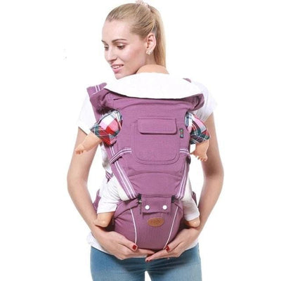 baby backpack-purple