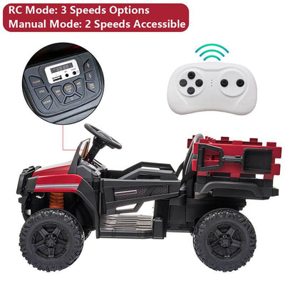 Off-Road Vehicle Ride On Car With Remote Control