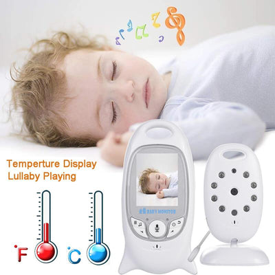 Portable Baby Monitor with Camera and Audio Infant Camera Night Vision