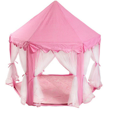 Princess Castle Playhouse Pink Kid Indoor Playhouse and Outdoor Playhouse