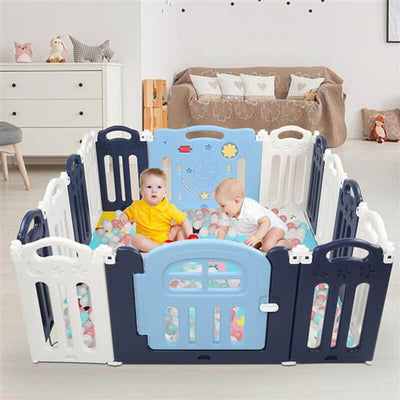 Baby Play Fence Portable Gate Play Yard For Kids