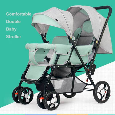 Double Jogging Stroller-8