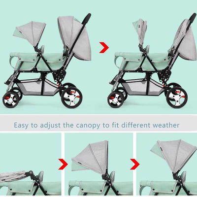 Double Jogging Stroller-9