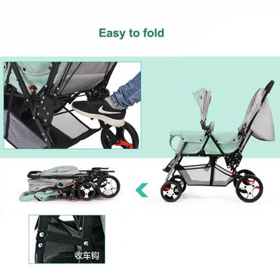 Double Jogging Stroller-11