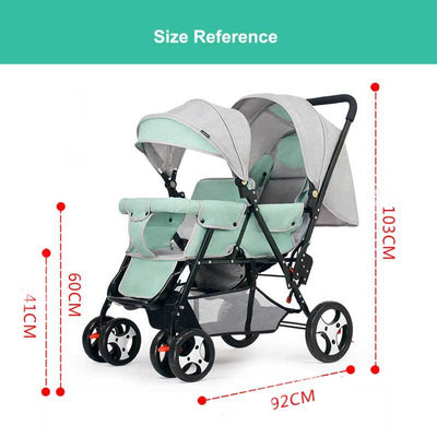 Double Jogging Stroller-7
