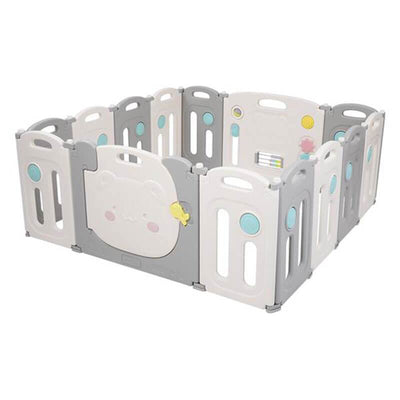 Foldable Playpen For Kids Play Yard Fence