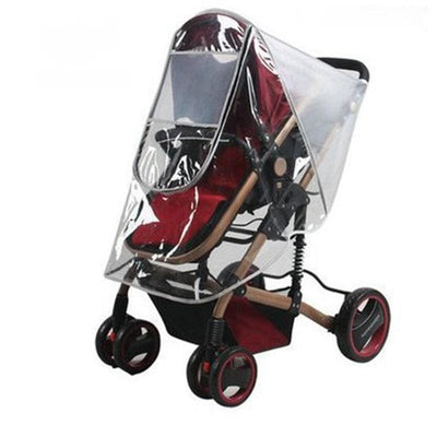 Universal Baby Stroller Rain Cover Wind Dust Shield-21