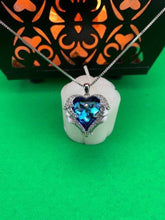 Load image into Gallery viewer, Blue Gemstone Necklace BeStrong