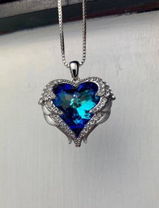Blue Gemstone Necklace BeStrong