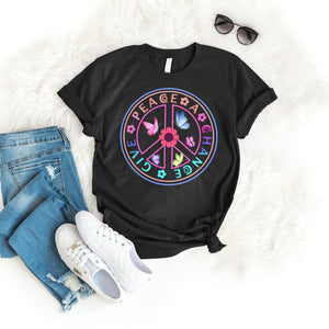 Give peace a chance Tee T-Shirt Printify Black L