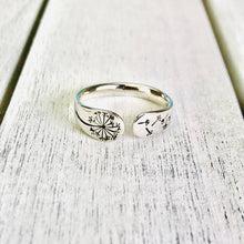 "Load image into Gallery viewer, ""This too shall pass"" Silver Tone Ring BeStrong"