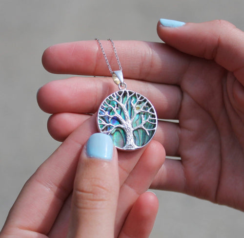 Turquoise Tree of Life Necklace Necklace BeStrong
