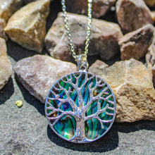 Load image into Gallery viewer, Turquoise Tree of Life Necklace Necklace BeStrong